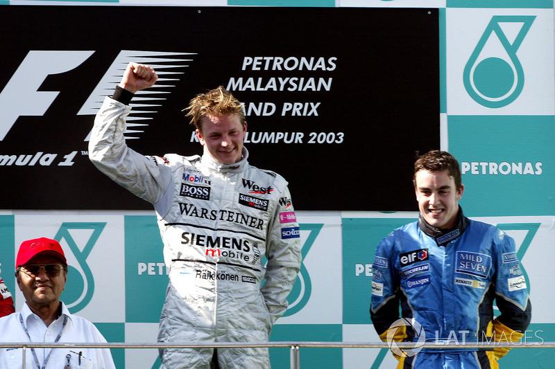 #6: Fernando Alonso, GP Malaysia 2003 (21 Jahre, 237 Tage)