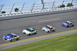 Dale Earnhardt Jr., Hendrick Motorsports Chevrolet, Kasey Kahne, Hendrick Motorsports Chevrolet, Jimmie Johnson, Hendrick Motorsports Chevrolet, Chase Elliott, Hendrick Motorsports Chevrolet