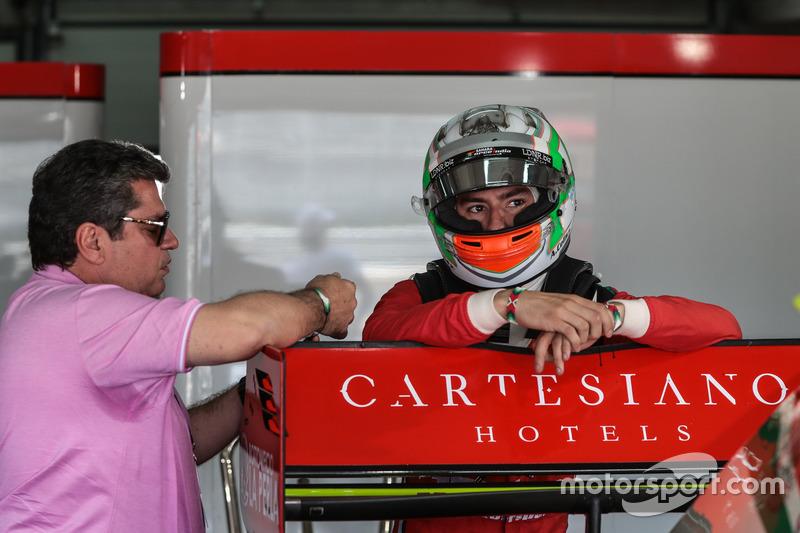 Alfonso Célis Jr., Fortec Motorsports