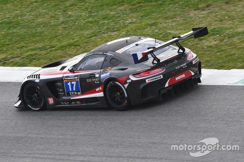 #17 IDEC SPORT RACING, Mercedes AMG GT3: Patrice Lafargue, Paul Lafargue, Dimitri Enjalbert