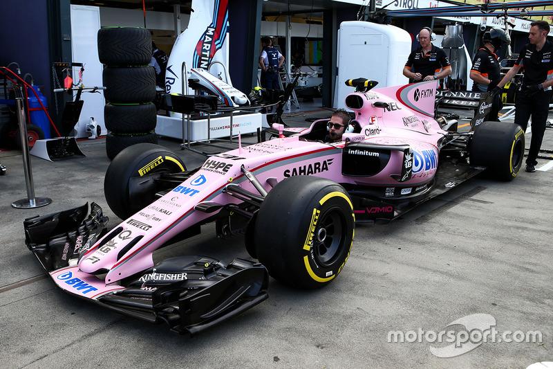 El Sahara Force India F1 VJM10