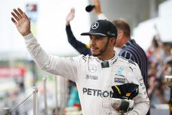 Podio: tercero, Lewis Hamilton, Mercedes AMG F1