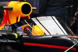 El Red Bull Racing RB12 equipado con el Aeroscreen