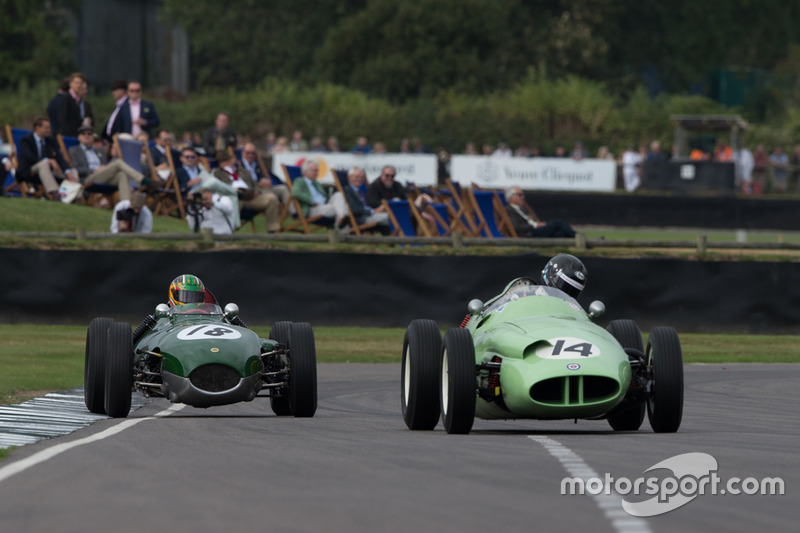 BRM Type 25 - 1959 - followed by Lotus- Climax 16 - 1959