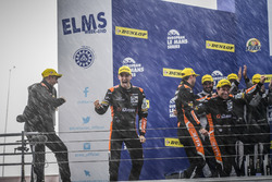 Podium: Race winners #38 G-Drive Racing Gibson 015S-Nissan: Simon Dolan, Giedo van der Garde, Harry