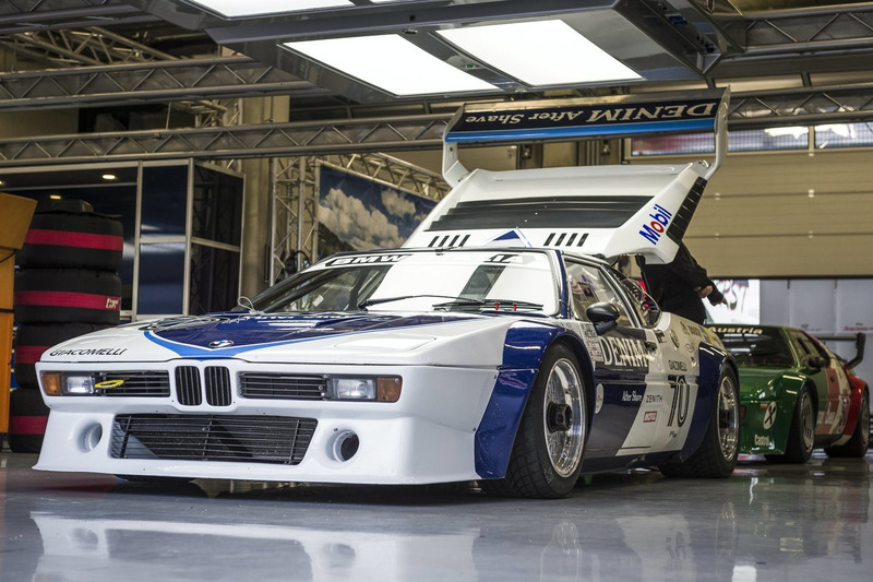 BMW M1 Procar testi