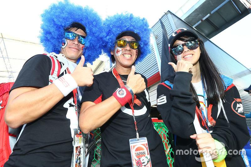 Fans of Jorge Lorenzo, Yamaha Factory Racing