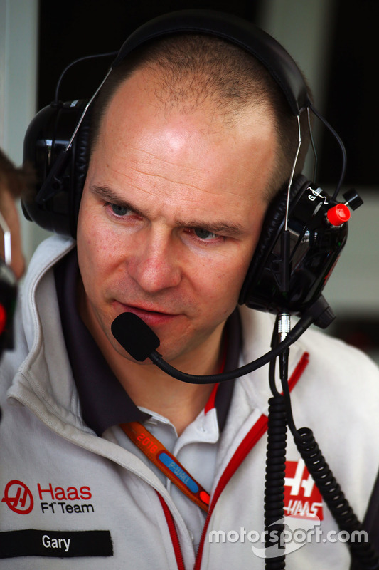 Gary Gannon, Haas F1 Team ingenieur