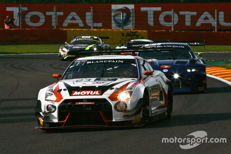 #23 Nissan GT Academy Team RJN Nissan GT-R Nismo GT3: Lucas Ordonez, Mitsunori Takaboshi, Alex Buncombe