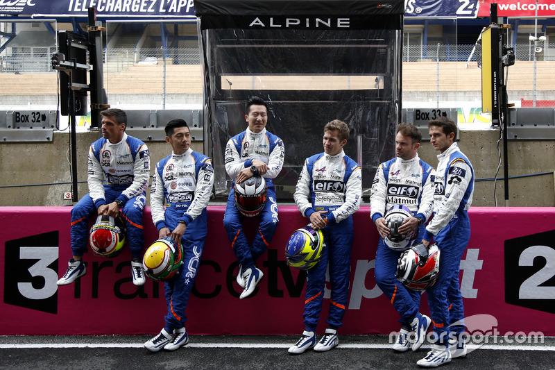 #35 Baxi DC Racing Alpine A460 Nissan: Девід Ченг, Хо-Пінт Тунг, Нельсон Панчьятічі; #36 Signatech Alpine A460: Густаво Менезес, Ніколя Лап'єрр, Стефан Рішельмі