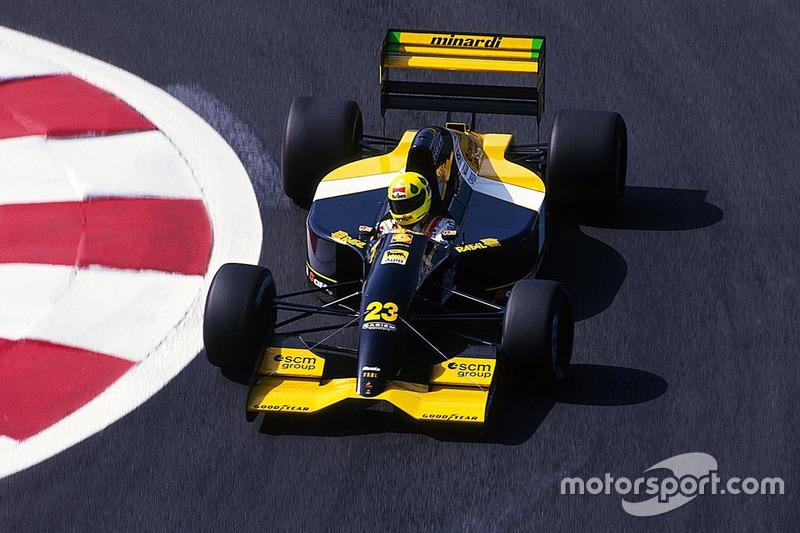 Christian Fittipaldi, Minardi M192, Lamborghini