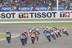 Race start: Jorge Lorenzo, Yamaha Factory Racing
