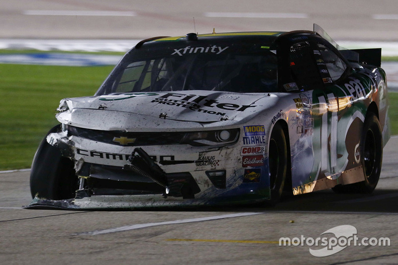 Trouble for Blake Koch, Chevrolet