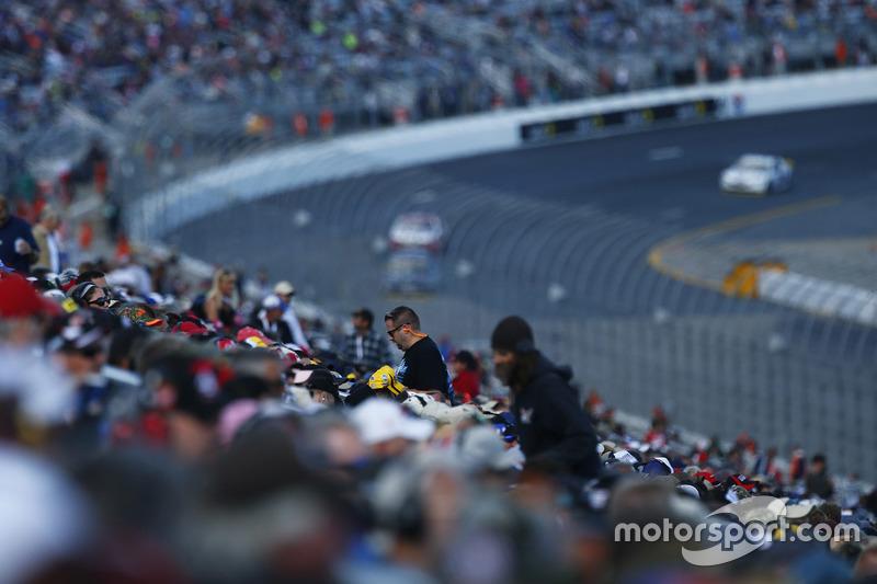 NASCAR-Fans am New Hamsphire Motor Speedway