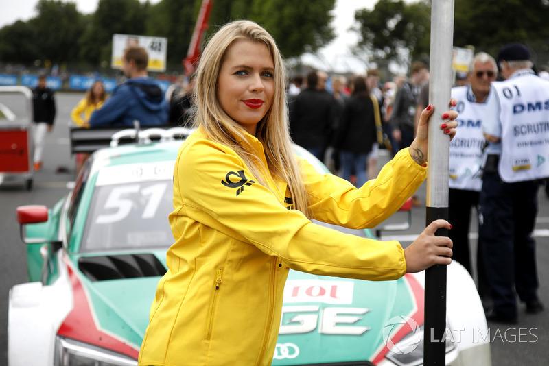 Chica de la parrilla, Nico Müller, Audi Sport Team Abt Sportsline
