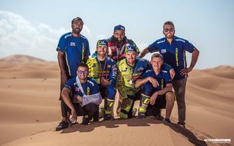 Sherco TVS team celebrates win