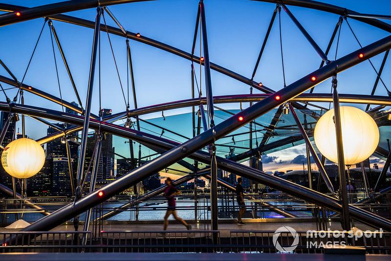 La arquitectura del Marina Bay