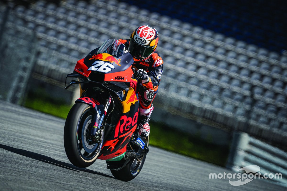 KTM-Test in Spielberg