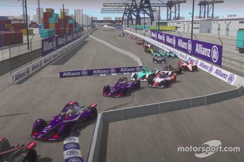 Formula E: Вторая гонка из дома