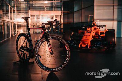 McLaren Team Bahrain Merida announcement