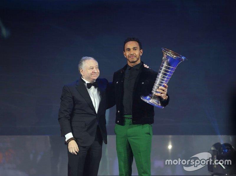 FIA Formula 1 World Championship: Lewis Hamilton
