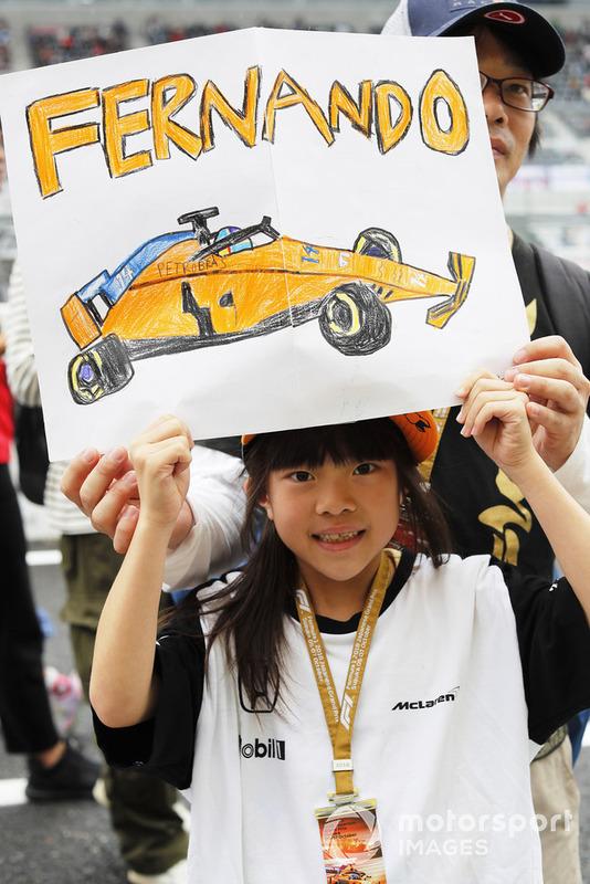 Fernando Alonso, McLaren taraftarı