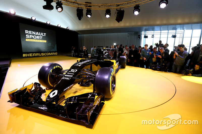 Designpräsentation Renault F1 Team
