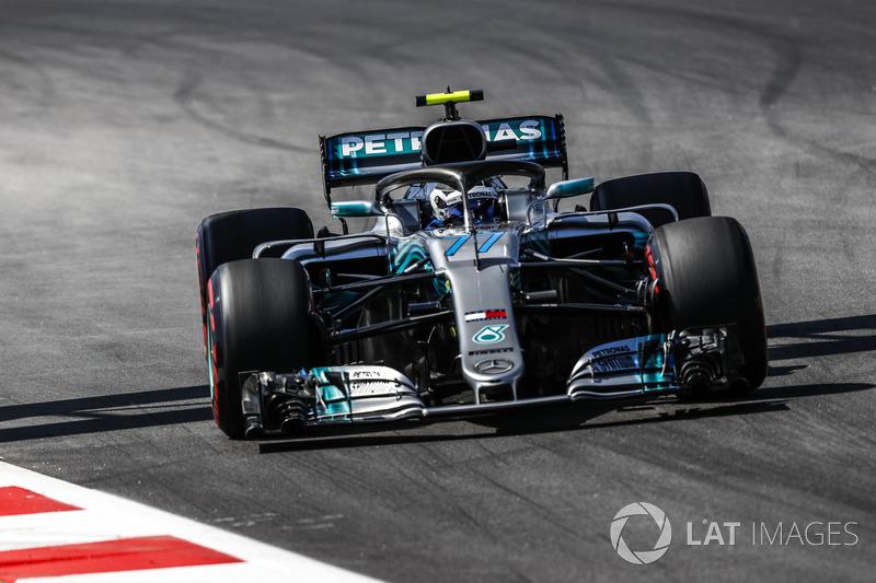 2. Valtteri Bottas, Mercedes-AMG F1 W09