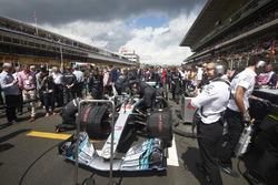 El auto de Lewis Hamilton, Mercedes AMG F1 W09