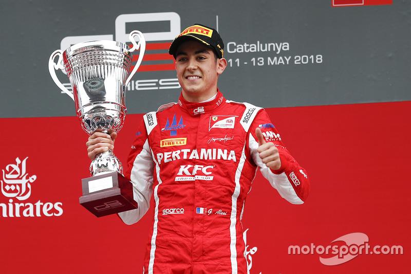 C'est le quatrième succès du Français en GP3, le quatrième en Course Sprint également