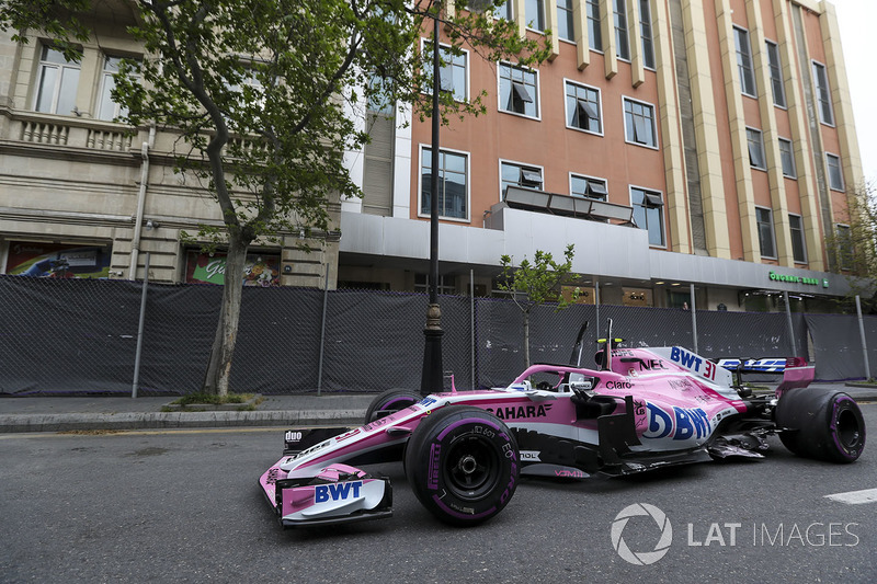 Ocon and Raikkonen blame each for their lap 1 crash