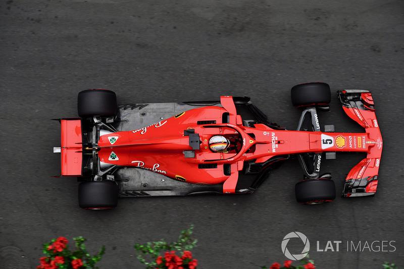11. Sebastian Vettel, Ferrari - GP do Azerbaijão 2018