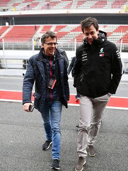 Toto Wolff, Mercedes AMG F1 Director de Motorsport e invitados