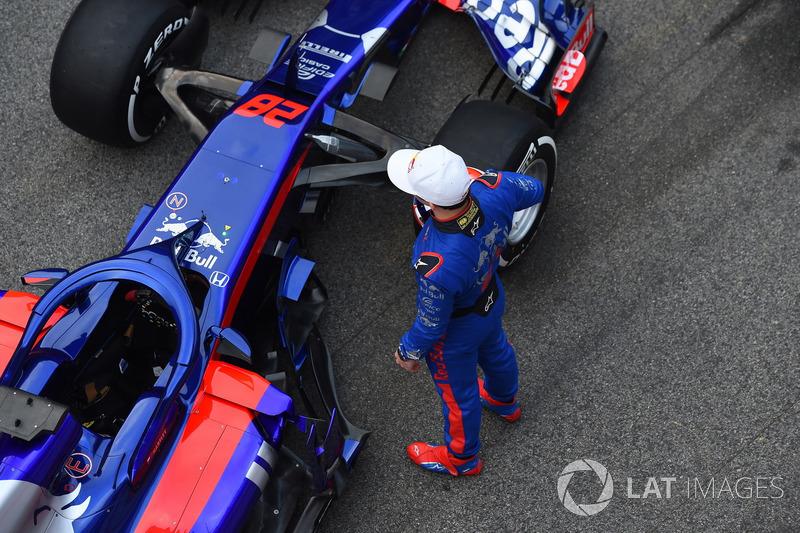Pierre Gasly, Scuderia Toro Rosso and Scuderia Toro Rosso STR13