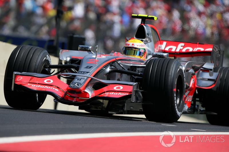 2007: McLaren MP4-22