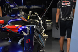 Scuderia Toro Rosso STR12 in the garage