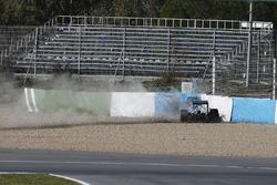 Accidente de Lewis Hamilton, Mercedes W05