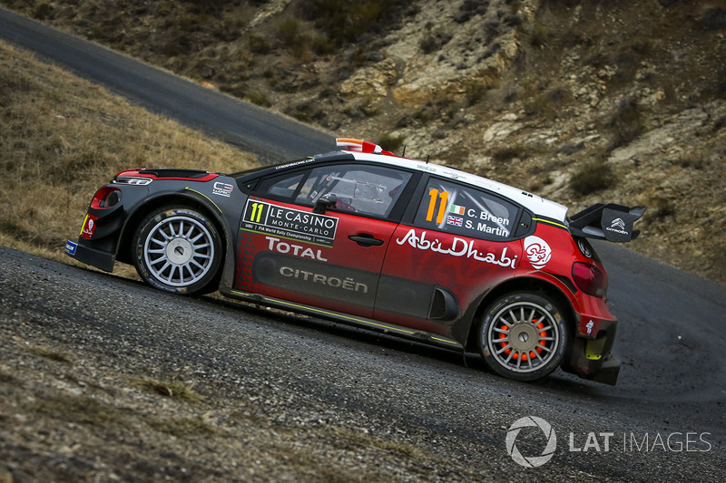 craig breen scott martin citro n c3 wrc citro n world rally team at rally monte carlo. Black Bedroom Furniture Sets. Home Design Ideas