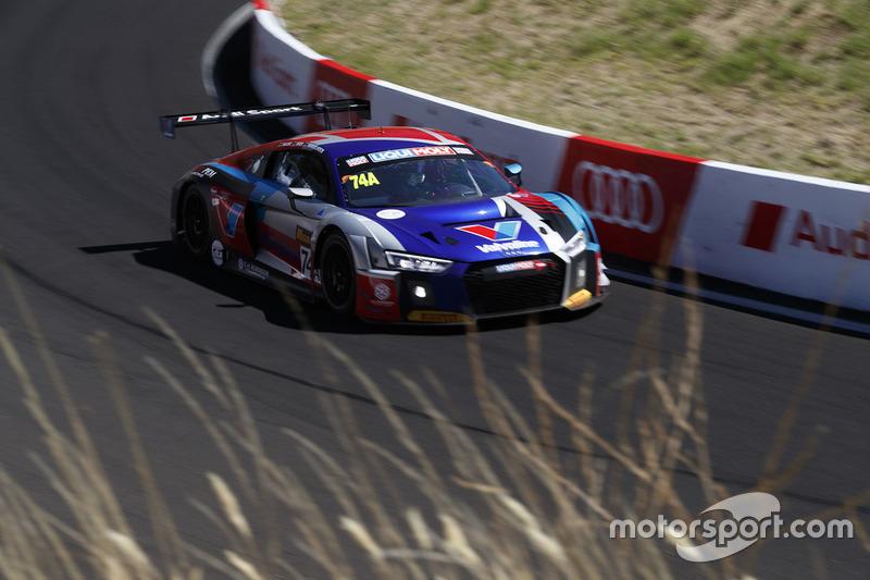 #74 Audi Sport Customer Racing Audi R8 LMS: Christopher Mies, Christopher Haase, Markus Winkelhock