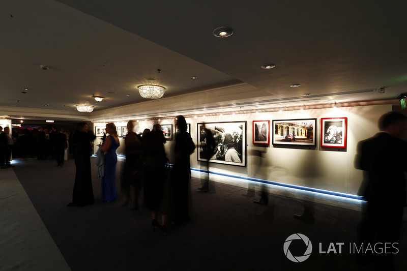 Guests gather at the gallery