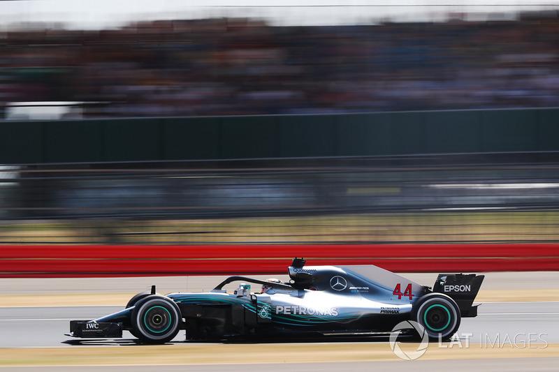 2º Mercedes AMG F1 W09 (1150 vueltas)