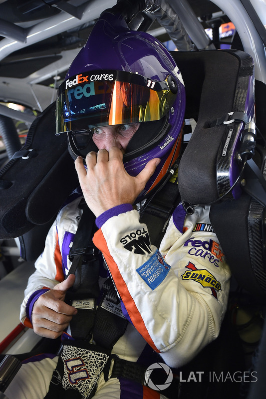 Denny Hamlin, Joe Gibbs Racing, Toyota Camry FedEx Cares