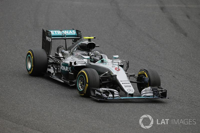 9. Nico Rosberg: 174 GPs (84,47% dos disputados)