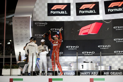 Podium: Race winner Valtteri Bottas, Mercedes AMG F1, second place place Lewis Hamilton, Mercedes AM