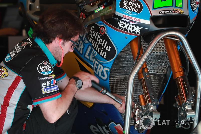 Mekanik Franco Morbidelli, Estrella Galicia 0,0 Marc VDS