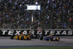 Ryan Hunter-Reay, Andretti Autosport Honda, James Hinchcliffe, Schmidt Peterson Motorsports Honda, A
