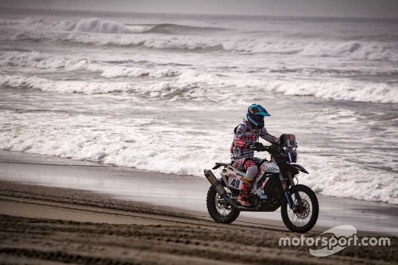 #49 Hero MotoSports Team Rally: CS Santosh