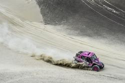 #351 C.A.T Racing Yamaha: Camelia Liparoti, Angelo Motico
