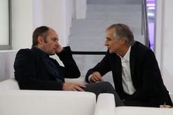 Председатель ITR Герхард Бергер и руководитель BMW Team Schnitzer Чарли Ламм