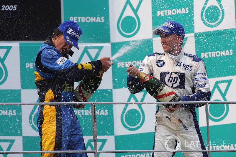 Em 2005, Alonso conquistou sete vitórias para a Renault e conquistou seu primeiro título
